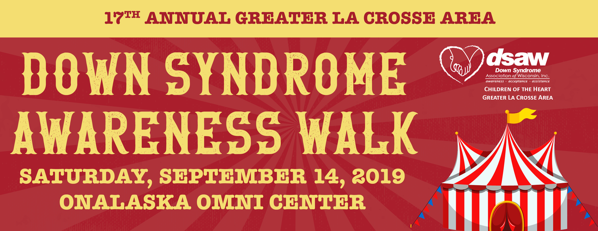 17th Annual La Crosse Down Syndrome Awareness Walk